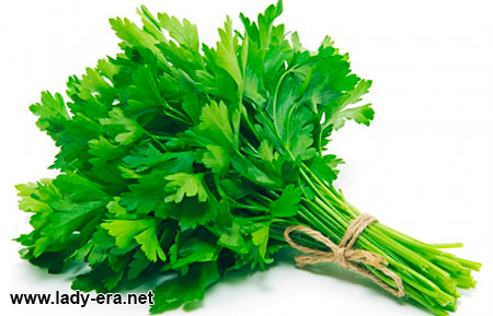 female health benefits of parsley